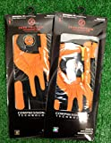 2 Zero Friction Men's LH Universal Fit Golf Gloves - Cincinnati Bengals - Orange
