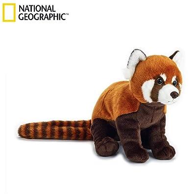 Venturelli Peluche Panda Color Rojo Animal Bosque Peluches Juguete 682,, 8004332708384: Juguetes y juegos