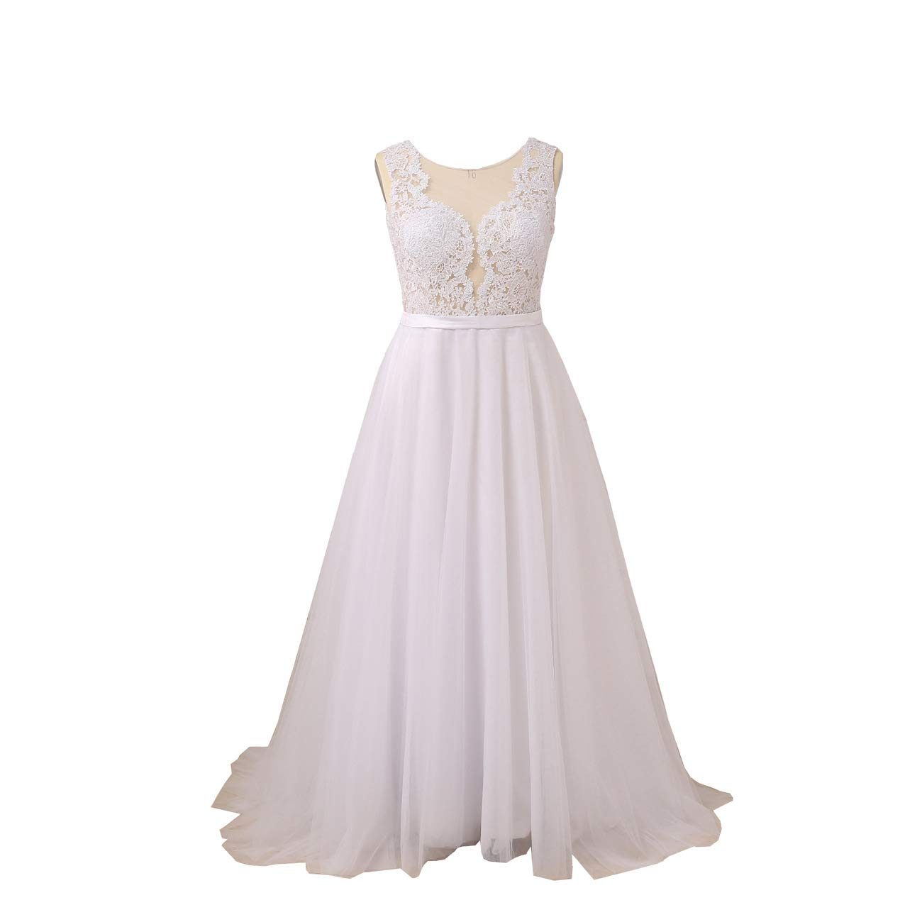 Yipeisha Womens Strapless Corset Plus Size Mermaid Wedding Dress