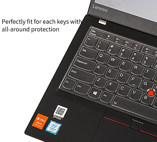 Keyboard Cover for Thinkpad X13 L13, Thinkpad X380 X390 Yoga, X395 Yoga 13.3 Keyboard Cover for Lenovo Yoga 370, ThinkPad X380 Yoga, ThinkPad X230S X240 X240S X250 X260 X270 X280 Laptop Keyboard Skin