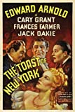 The Toast of New York Poster Movie 11x17 Edward Arnold Cary Grant Frances Farmer Jack Oakie