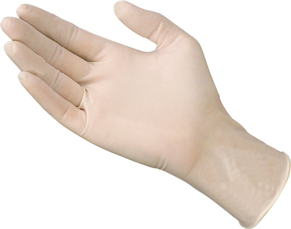 SKINTX 90020-XL-CSLatex Medical Grade Examination Gloves, 5 mil - 5.5 mil, Powder-Free, Fully Textured, Polymer Coated, Non Sterile, X-Large, Natural (Pack of 900) by Skintx