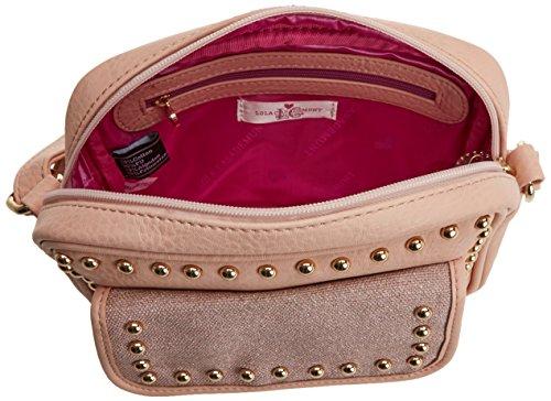 LOLA H para 22x6x18 Bolso L CASADEMUNT Daniela cm W Mujer Rosa Pink x Baguette x rZvUrY
