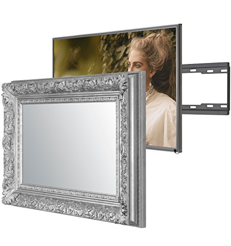 Versteckter Fernseher handmade framed mirror tv with samsung ue40mu6400 to amazon co uk