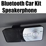 Bluetooth Handsfree In-car Visor Kit for All iPhone 5 5s 5c 4 4s 3G and 3Gs Models