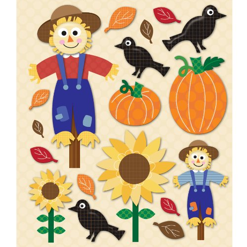 K&Company Scarecrow Sticker Medley