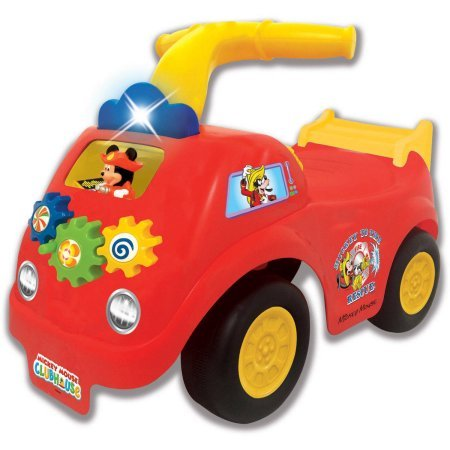 Disney Mickey Mouse Fire Engine Ride On