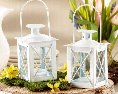 50 White Luminous Mini-Lanterns (Mini Lanterns Luminous)