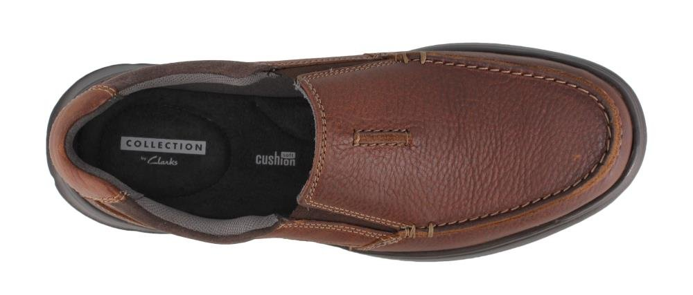 CLARKS Men's Cotrell Free Loafer, Tobacco Leather, 14 Medium US by CLARKS (Image #2)