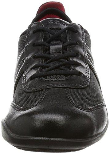 ECCO Bluma Lace Up - Zapatos de cordones para mujer Negro (Black/Black 51052)