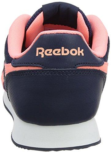 Reebok Royal Classic Jogger 2, Baskets Basses Femme Bleu (Collegiate Navy/Sour Rose Melon/White)
