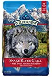 Cheap Blue Buffalo Wilderness Snake River Grill High Protein Grain Free, Natural Dry Dog Food With Trout, Venison & Rabbit 22-Lb