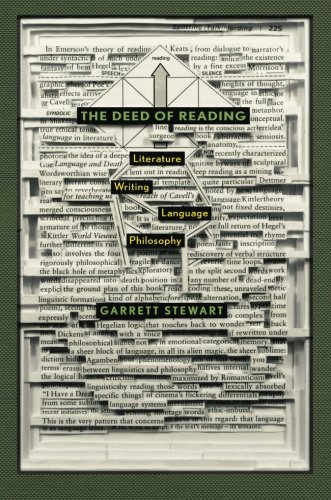 The Deed of Reading: Literature * Writing *