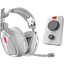 Astro Gaming - A40TR Wired Surround Sound Gaming Headset + MIXAMP Pro for Xbox One and Windows - White