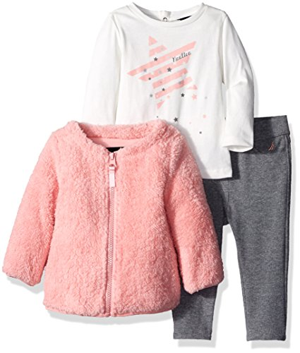 nautica-baby-girls-jacket-shirt-and-double-knit-pant-set-pink-3-months