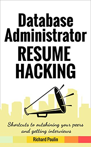 amazon com database administrator resume hacking shortcuts to