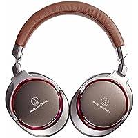 Audio-Technica ATH-MSR7GM SonicPro Over-Ear High-Resolution Audio Headphones, Gun Metal Gray (Certified Refurbished)