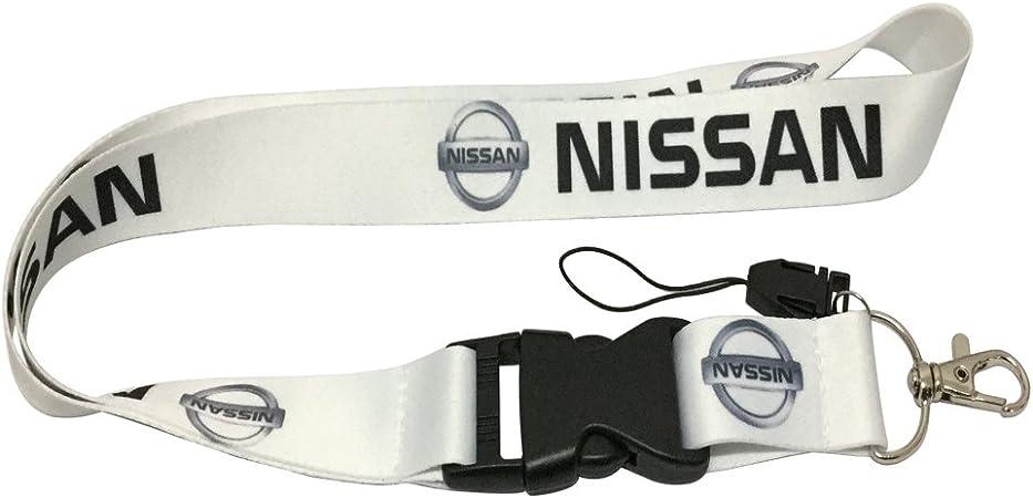 1pcs Black Color USA Ship New Quick Release Neck Strap Lanyard Keychain Keyring Car Keys House Keys ID Badges Card for Nismo Design