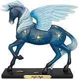 "Enesco Trail of Painted Ponies ""Night Flight"" Clear Resin Figurine, 7.25"""