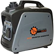 Dirty Hand Tools 104609, 700 Running Watts/800 Starting Watts, Gas Powered Portable Inverter Generator, EPA &...
