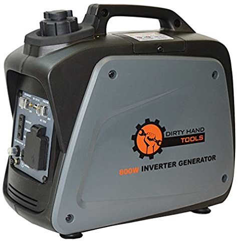 Dirty Hand Tools 800W Gas Powered Inverter Generator (Hand Powered Tools)