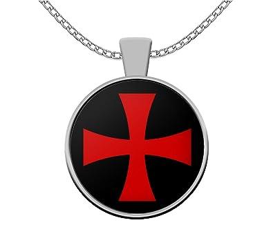 Amazon Knights Templar Masonic Necklace Templar Cross Symbol