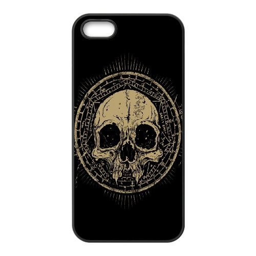 Vintage Skull Symbole GE84MT5 coque iPhone 4 4s cellulaire cas de téléphone coque H3JF4M2XL