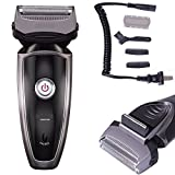 Philips Ultimate Epilator Set - Men's Rechargeable Cordless Electric Razor Shaver Groomer Double Edge Trimmer US