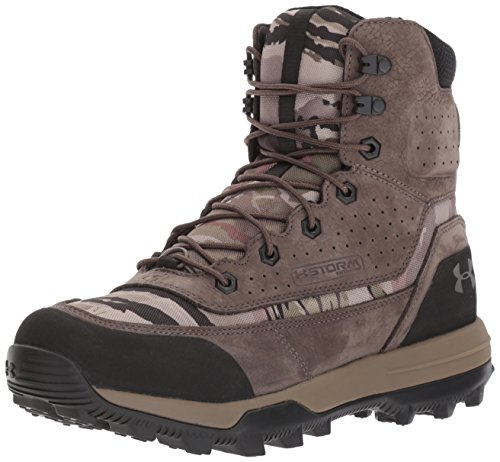 Under Armour Men's SF Bozeman 2.0, Ridge Reaper Camo Ba (900)/Maverick Brown, 11.5