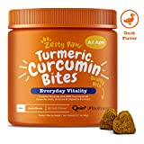Turmeric Curcumin Treats for Dogs - With 95% Curcuminoids for Hip & Joint