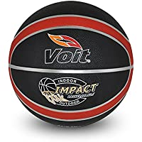 Voit IMPACT BASKETBOL TOPU N7 SYH-KRMZ Basketbol Topu N7, Unisex, Siyah/Kırmızı, N7
