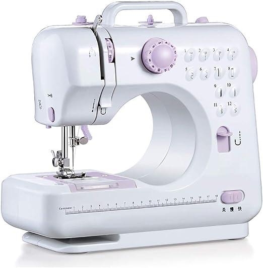 Máquina de coser con luz,Profesional mini máquina de coser ...