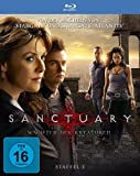 BD * Sanctuary - Wchter der Kreaturen, Staffel 3 in HD (4 Blu-rays) [Import allemand]