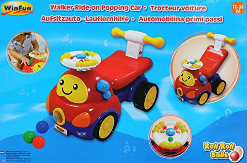 Winfun 2-in - 1 Baby Ride-On Toy with Sound
