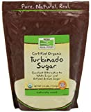 NOW Foods Organic Turbinado Sugar, 2.5-Pound (Pack of 2)