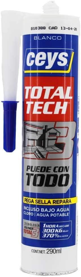 ceys Ms-Tech 290 ml, Blanco 507216, 0: Amazon.es: Bricolaje y herramientas