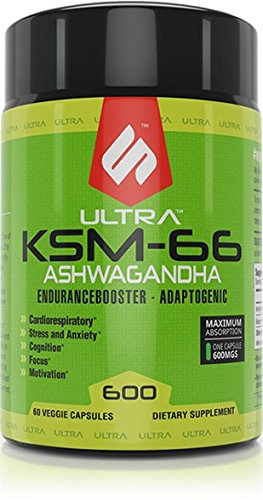 Amazon com: Ultra KSM-66 Ashwagandha Endurance Booster