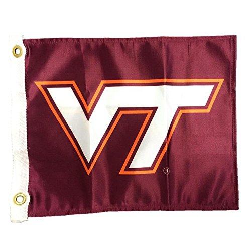 - NCAA Virginia Tech Hokies Boat/Golf Cart Flag