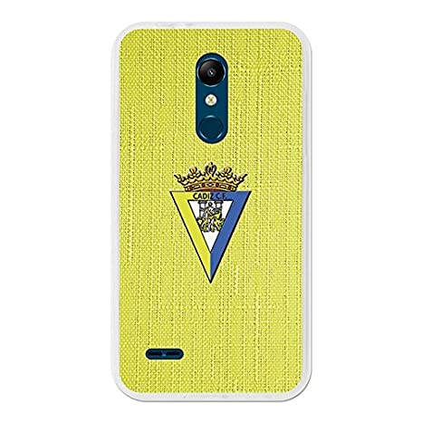 Cádiz Carcasa Oficial Textura Amarilla LG K11: Amazon.es ...