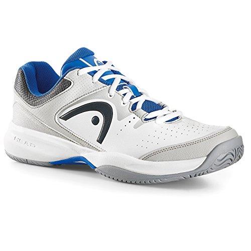 HEAD Men's Lazer Ii Whbl Tennis Shoes White (White/Blue) i3YbN