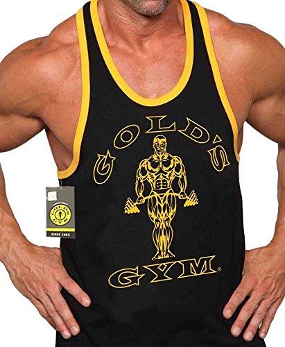 500021f370973 Gold s Gym Tank Top Ringer - Official Licensed - RT-1