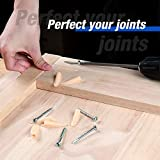 WORKPRO Pocket Hole Jig Kit, Including Plastic