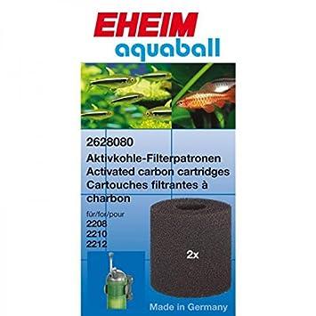 Eheim 2208 - 10 - 12- 2401 - 02 - 03 gris juego de 2 esponjas para Acuario: Amazon.es: Productos para mascotas