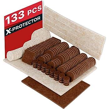 X-PROTECTOR Premium CLASSIC Pack Furniture Pads 101 piece ...