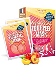 Soft Foot Exfoliating Peeling Mask - Baby Foot Peel - Removes Calluses, Dead and Dry Skin - Repairs Rough Heels in 7 Days - Peel Mask for Men and Women(Peach) - Baby Foot Baby Feet Foot Peel 2 Pack