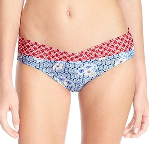 Profile Blush by Gottex Women's Bandana Banded Hipster Bikini Bottom Multi XS