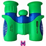 Living Squad Kids Binoculars Shock Proof Set 8x21 for Bird Watching - Real Educational Learning - Birthday Present for Hunting and Hiking - Outdoor Play Toys - Gift Guide for Children (USA SELLER)