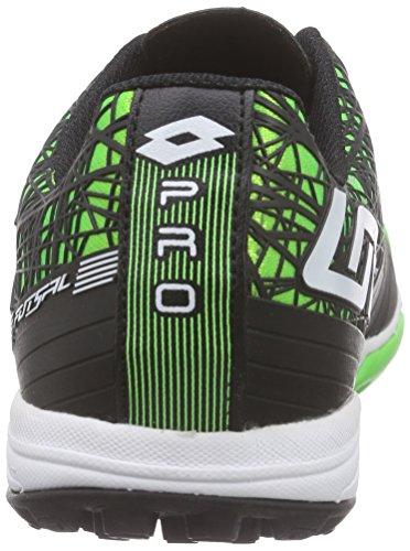 Lotto Tacto 300 Tf - Zapatos de Futsal Hombre Verde - Grün (MINT FL/WHT)