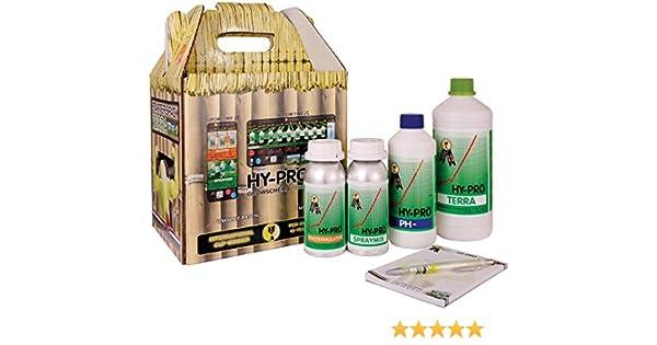 Kit Fertilizantes / Abonos HY-PRO Starter Pack Terra: Amazon.es ...