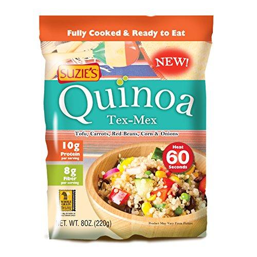 SUZIES QUINOA POUCH TEX MEX, 8 OZ - 6 Pack by Suzie's